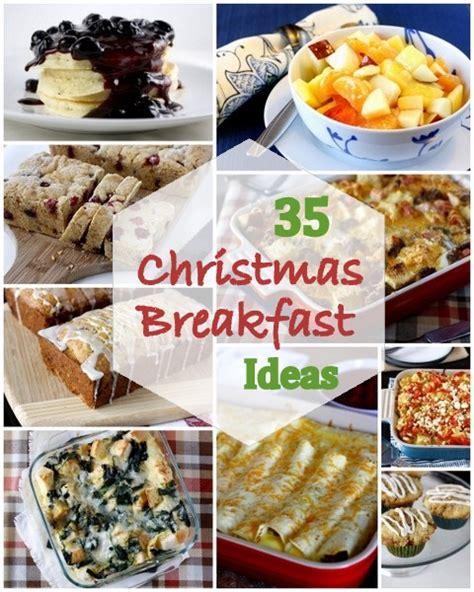 35 ideas for christmas morning breakfast or brunch what