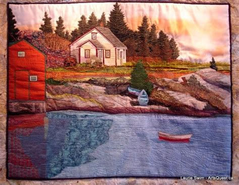 Landscape Fabric Scotia Make And Quilt By Laurie Swim Picture Of