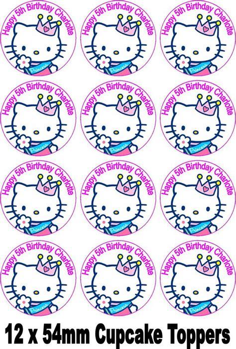 Advanced Kitchen Design hello kitty princess cake topper personalised free