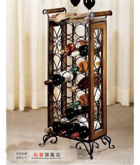 fashion iron wine rack wine rack wrought iron floor flower