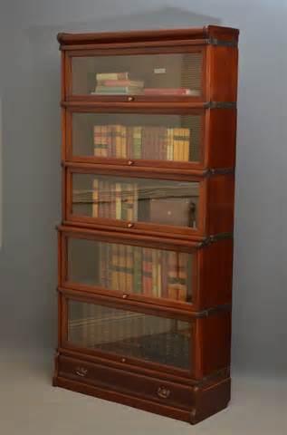 Mahogany Bookshelves Globe Wernicke Mahogany Bookcase 250233