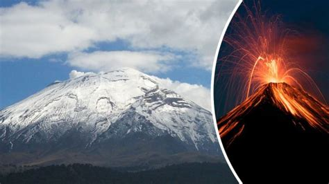 earthquake volcano after devastating earthquake mexico fears volcanic eruption