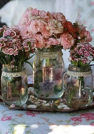 lace jar centerpieces lace jar centerpieces
