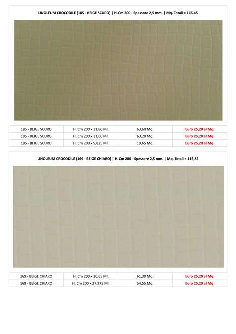 pavimenti linoleum prezzi pavimenti linoleum sottocosto