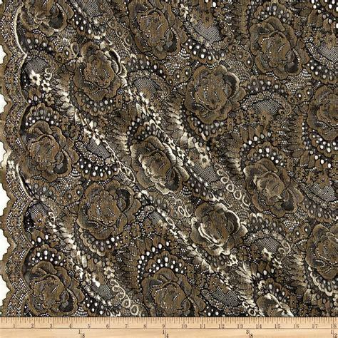 Cape Brukat Glitter Gold 1 lace fabric lace fabric by the yard fabric