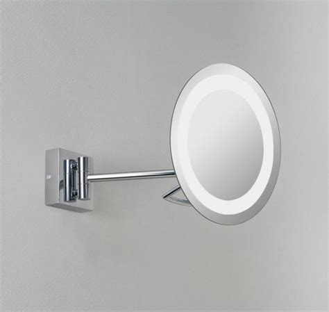 magnified bathroom mirror 17 best images about illuminated bathroom mirrors on
