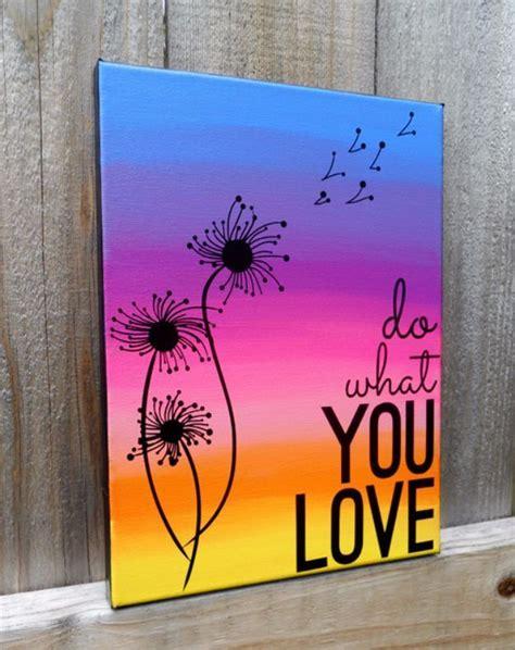 diy canvas painting ideas canvas art quotes creative