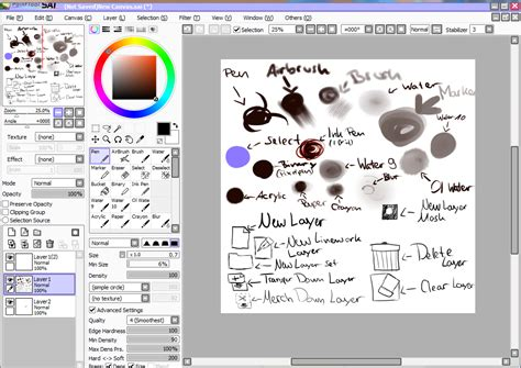 paint tool sai deviantart paint tool sai screenshot by tenten110 on deviantart