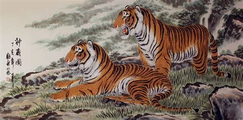 tiger paint asian tiger www imgkid the image kid has it