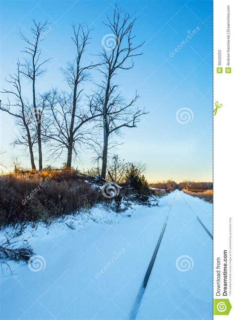 landscape photography in nj new jersey landscape winter perspective stock image image of tracks railroad