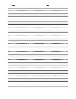 printable interlined paper free printable always do your best dotted mid line lined