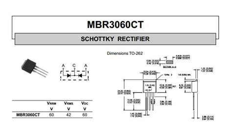 schottky barrier diode voltage drop 20a schottky barrier rectifier diodes mbr2060ct buy mbr2060ct mbr2060ct schottky rectifier