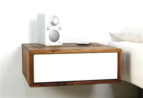 Small Bedside Table Ideas floating side table by urbancase design milk