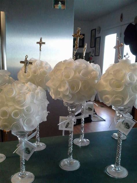 centros de mesa para bautizo by qumircreations crafts manualidades communion centros de mesa para bautizo by qumircreations crafts manualidades communion