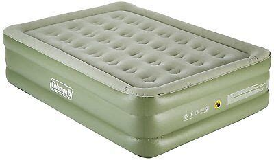coleman maxi comfort raised king size airbed air bed carry bag 163 44 99 picclick uk