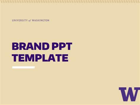 Powerpoint Uw Brand Uw Powerpoint Template