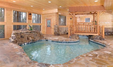 Cabin Rentals In Gatlinburg With Indoor Pool by Best 25 Pigeon Forge Tennessee Cabins Ideas On