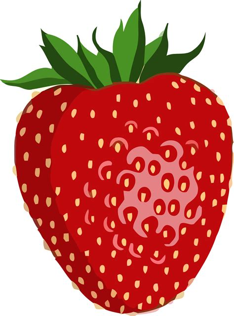 strawberry clipart clipart shiny strawberry