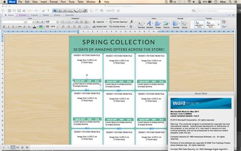 Vertical Line Sheet How To Create A Line Sheet Custom Line Sheet Microsoft Word Catalog Template