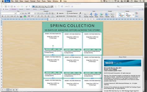 microsoft word catalog template vertical line sheet how to create a line sheet custom