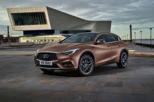 infiniti q30 2016 production car revealed by car magazine