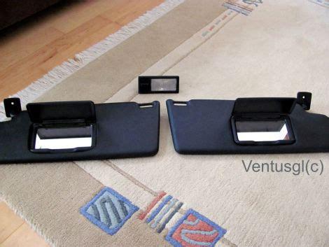 schwarze lichtschalter schwarze golf 3 und vento sonnenblenden mit spiegel und