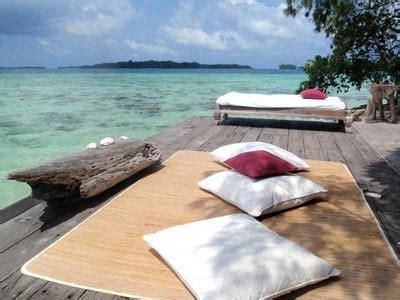Pulau Macan Type Coral Hut Weekend Dewasa pulau macan mitra jasa utama