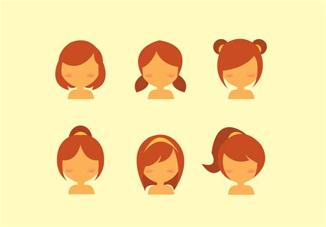 Hair Free For by Free Hair Style Vector Free Vector