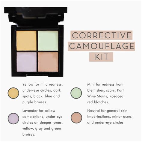 different color concealers how to use corrective concealer a guide to using
