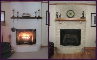 brick fireplace makeover for season brick anew