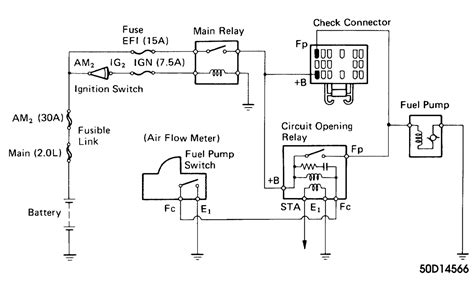 1994 toyota fuel wiring diagram