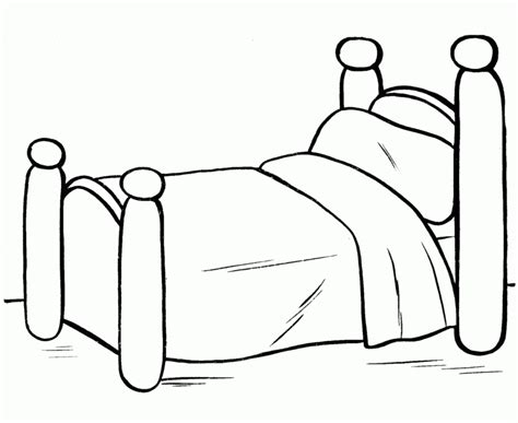 bunk beds coloring pages