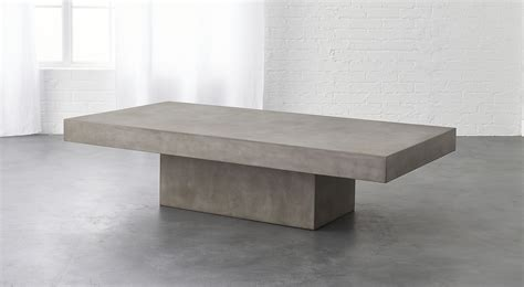 How To Make A Concrete Coffee Table Element Grey Concrete Coffee Table So That S Cool