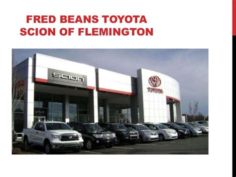 Fred Beans Toyota Used Cars Nj