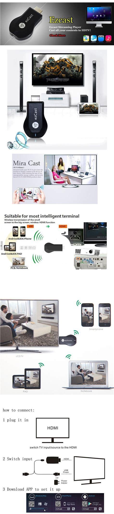 Memasang Wifi Media ezcast m2 wifi jadikan tv led atau infokus anda agar supaya menjadi smart tv atau smart media