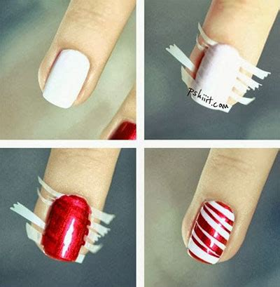 xmas nail art tutorial easy christmas nail art tutorials 2013 2014 x mas nails