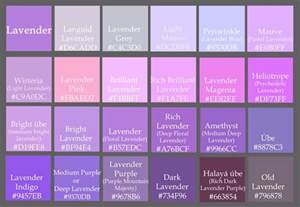 purple colors names blue purple color name pictures to pin on