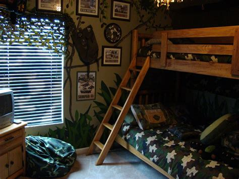 Camo Boys Bedroom by Dsny Home 1