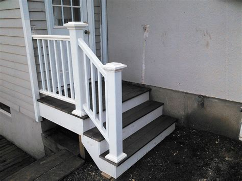 outside steps small and minimalist designed outside steps made with