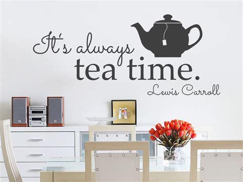 wie heist kinderzimmer auf englisch wandtattoo it s always tea time wandtattoo de