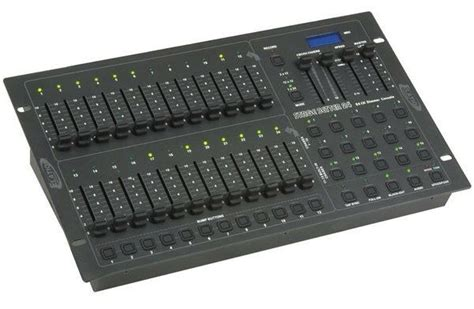 lighting console elation pro lighting stage setter 24 24 channel stage