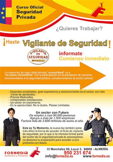 test vigilante de seguridad examen conv 22016 y 32016 cursos de vigilante de seguridad en almeria
