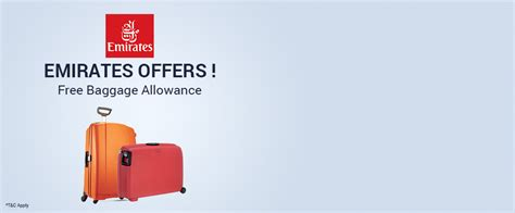 Emirates Deals | emirates free baggage allowance on select destinations