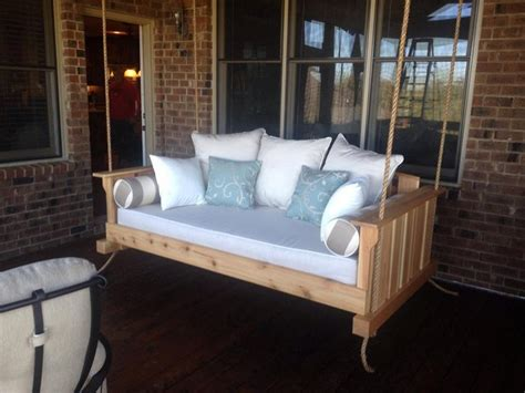 learn   build   hanging day bed swing
