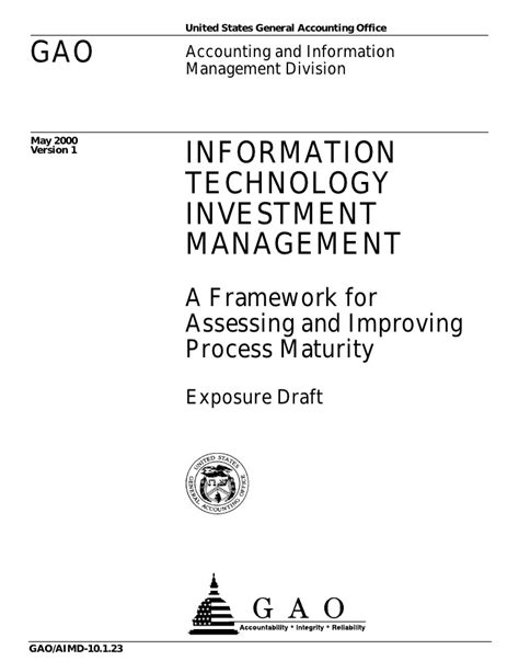 Mba In Accounting And Information Technology Management by Information Technology Investment Management