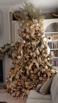 Christmas Tree Gold Decorations 17 Best Ideas About Gold Christmas Tree On Pinterest