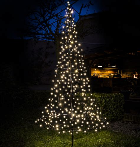 fairybell 185 cm 250 led weihnachtsbaum warmwei 223 outdoor