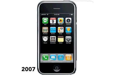 iphone through the years see how apple s phone has changed time
