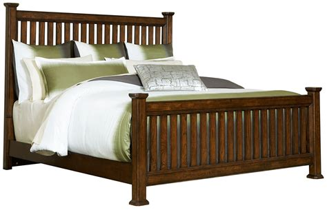 California King Bed Slats Estes Park Cal King Slat Poster Bed From Broyhill 4364 262 263 465 Coleman Furniture