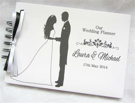 PERSONALISED BRIDE & GROOM WEDDING PLANNER* PHOTO